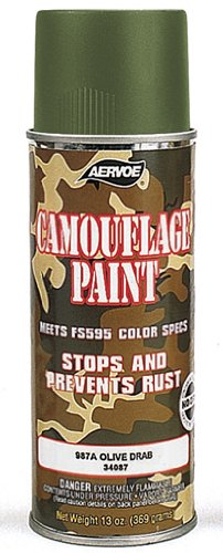OLIVE DRAB CAMOUFLAGE SPRAY PAINT