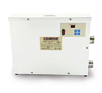 High Performance 11KW 220V Automatic Swimming pool Thermostat SPA Heater Home Bath Hot Tub Pump Temperature Controller