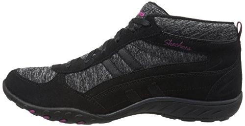 Skechers Breathe de Easy de Shout Out, negro, gris, 41
