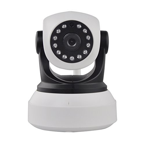IP Camera, HD WiFi Security Camera Surveillance System Video Recording Sonic Recognition P2P Pan & Tilt Remote Motion Detect Alert with Two-way Audio and Night Vision - Camera Direct Print Card