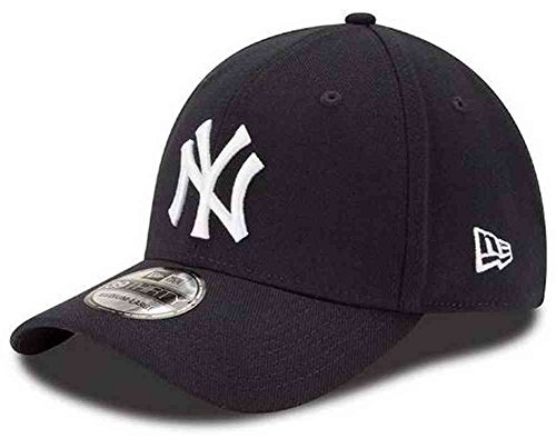 (MLB New York Yankees Team Classic Game 39Thirty Stretch Fit Cap, Blue, Large/X-Large)