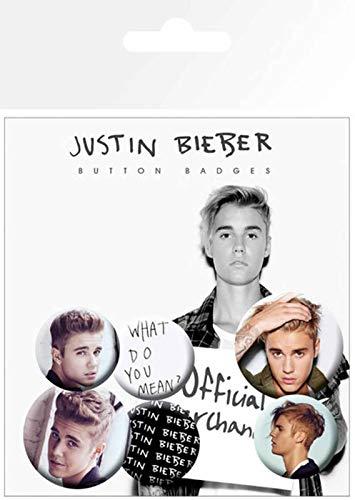 GB Eye, Justin Bieber, Mix 3, Pack de Chapas,: Amazon.es: Hogar
