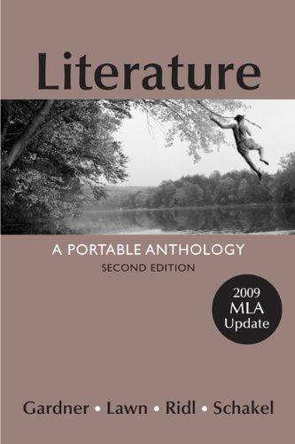 Literature:Port.Anth.,09 Mla Updt(9189)