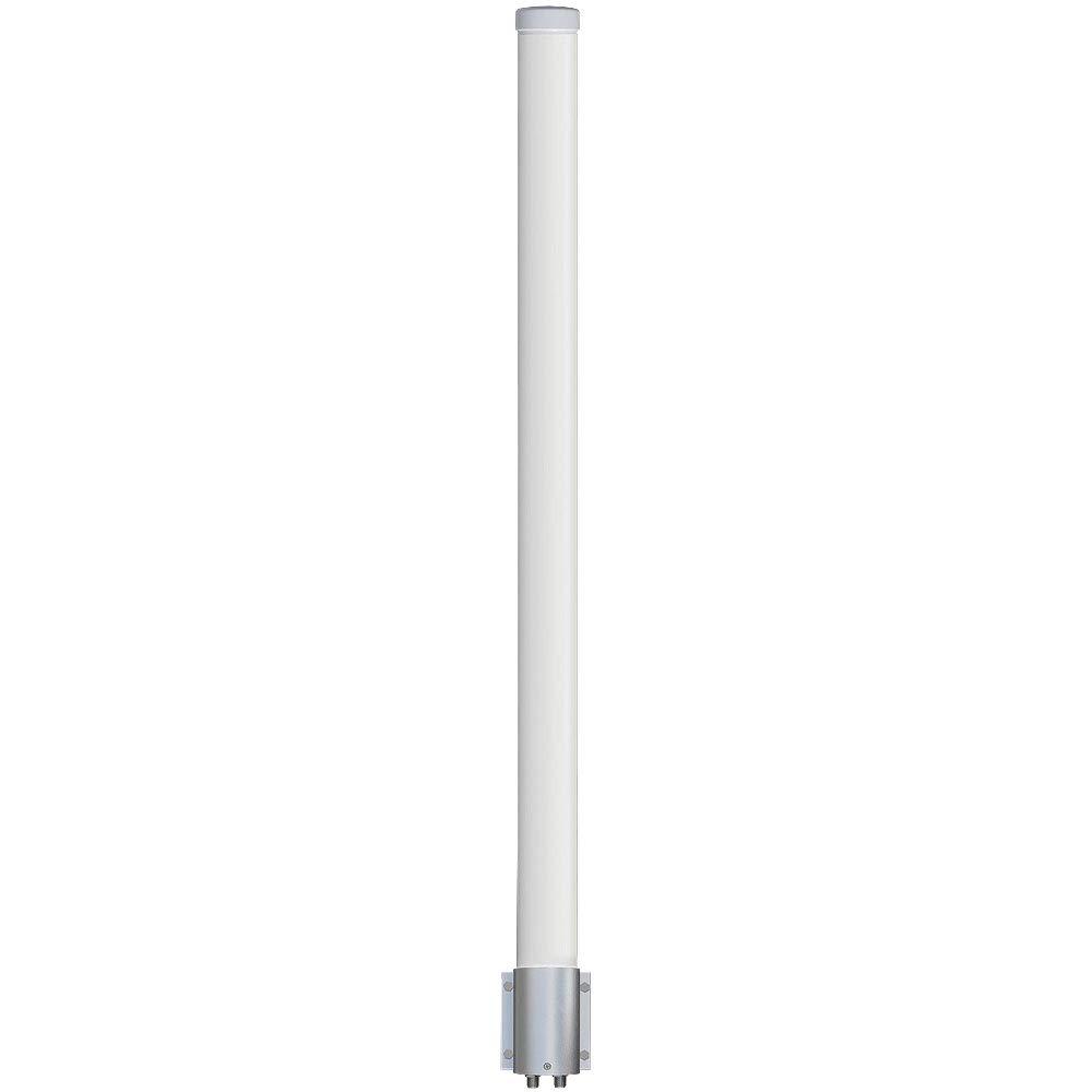 Altelix 2.4 GHz 15 dBi WiFi 2 Port MIMO Omni Antenna for Ubiquiti RocketM2, TP-Link WBS-210, MikroTik BaseBox2 & Cambium ePMP