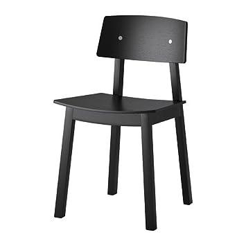 IKEA SIGURD Stuhl schwarz: : Küche & Haushalt