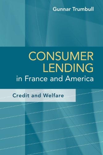 Consumer Lending In France And America  Credit And Welfare