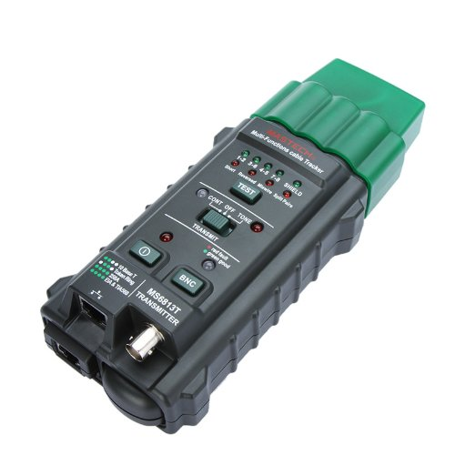 Kingzer MS6813 Network Cable Tester Telephone Line Detector Tracker RJ45 RJ11 COAX T568A from KINGZER