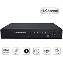 TOUGHSTY 16 Channel H 264 DVR Hybrid Onvif NVR CCTV Recorder with HDMI Output Support Multiple OSD Languages