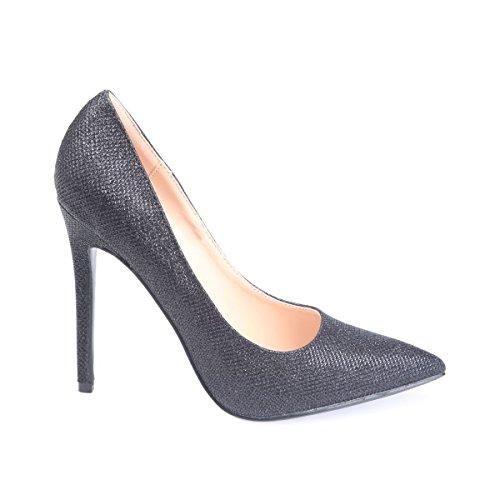 Modeuse Negro Vestir Sintético De La Material Zapatos Mujer dO0vwwx