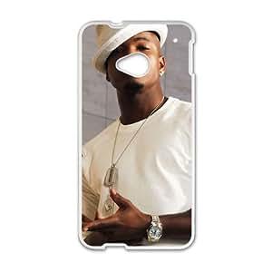 HTC One M7 Cell Phone Case White Ne-Yo Mrwav