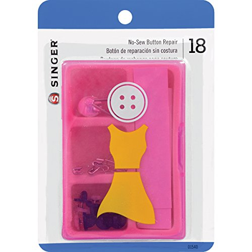 SINGER SEWING CO. Women's No-Sew Button Repair Kit