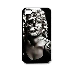 SUMCOM Marilyn Monroe Pattern Plastic Hard Case for iPhone 4/4S