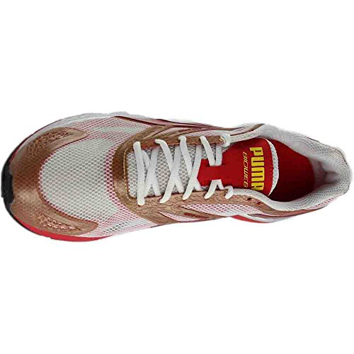 PUMA Bioweb Speed Mens Running Shoes White-high Risk Red Idq1H