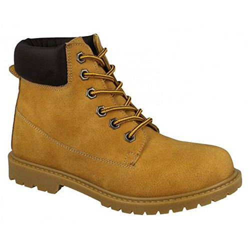 Boots Ladies Military Womens Ankle Tan On Combat Spot EYRwgqZF