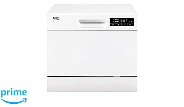 Beko DTC36610W Encimera 6cubiertos A+ lavavajilla - Lavavajillas ...