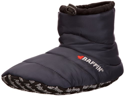 Baffin Unisex Cush Insulated Slipper Booty,Navy,XX-Large (Men's 11-12 M US) by Baffin