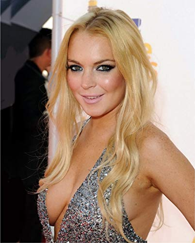 Lindsay Lohan 8x10 Photo - No Image is Cropped. No white or black borders, What you see is what you -