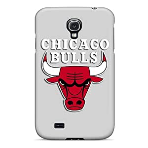 BillCM Case Cover Protector Specially Made For Galaxy S4 Chicago Bulls Grey
