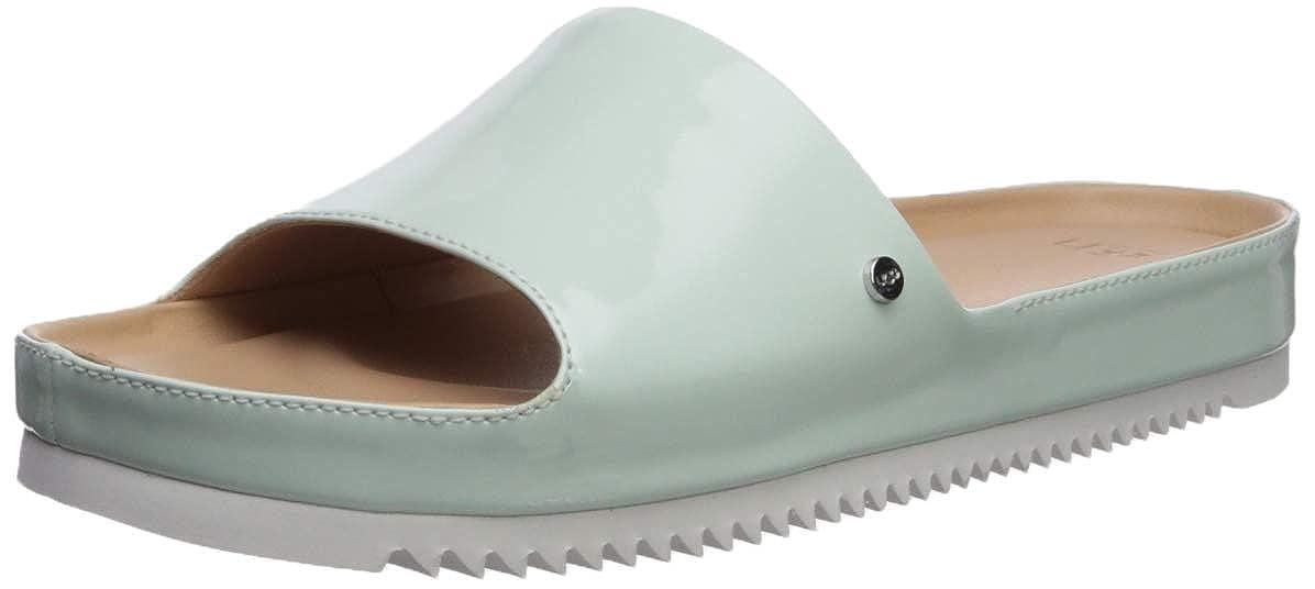 bfa799dd7 Amazon.com: UGG Women's Jane Patent Flat Sandal: Shoes