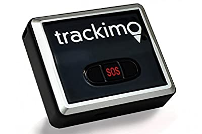 Trackimo GPS Tracking Device (TRK-100) With 1 Year Monitoring & Free Custom DJI Phantom 4 Drone Holster by Trackimo