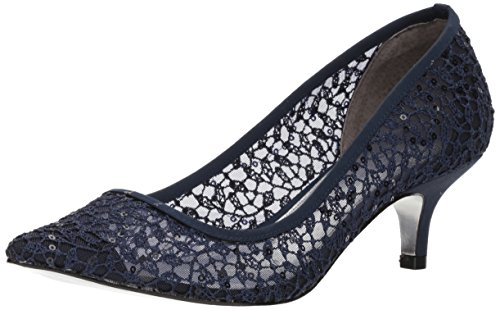 Adrianna Papell Dames Lois-lc Pump Marine Martinique Lace