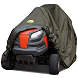 Family Accessories Waterproof Riding Lawn Mower Cover - Heavy Duty, Durable, UV and Water Resistant Cover for Ride-On Garden Tractor with Bagger or Attachment, Extra Large XL Size 98' Lx44 Wx43 H