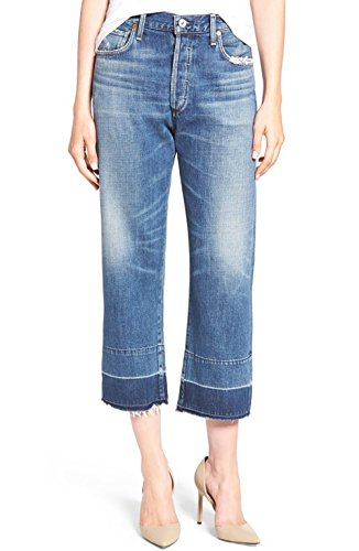 Citizens of Humanity Women's Cora Crop Undone Hem Jeans (29, Fade Out) by Citizens of Humanity