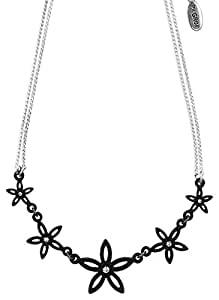 PILGRIM - Collar breeze plata y negro ref 151219011