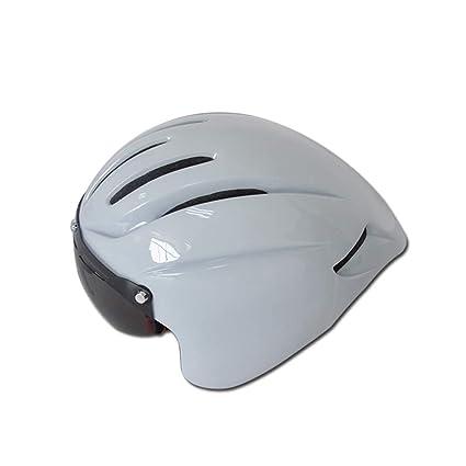 LXDTOOL Casco De Ciclismo con Gafas Ultralight Casco De Seguridad para El Transporte Casco De Seguridad