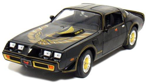 1980 Pontiac Firebird Trans Am Turbo 4.9L Smokey & The Bandit II 1/18 (Firebird Diecast Model Car)