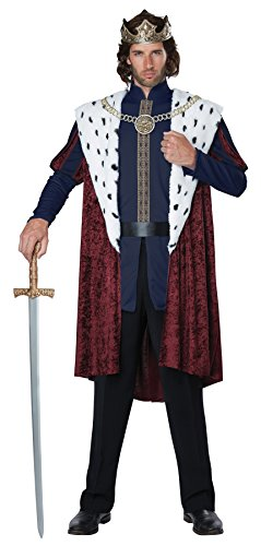 California Costumes Men's Royal Storybook King Adult Man