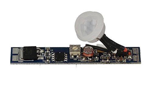 Sensor de movimiento PIR + Light Sensor Crepuscular 12 V 24 V 8 A ajustable
