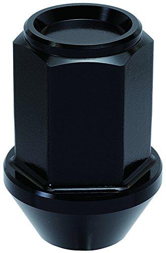 KYO-EI (協永産業) ホイールナット LEGGDURA RACING 【 M12 x P1.5 】 ブラック KIN16K B012AWVZ0O ブラック ブラック