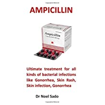 Ampicillin: Ultimate treatment for all kinds of bacterial infections like Gonorrhea, Skin Rash, Skin infection, Gonorrhea