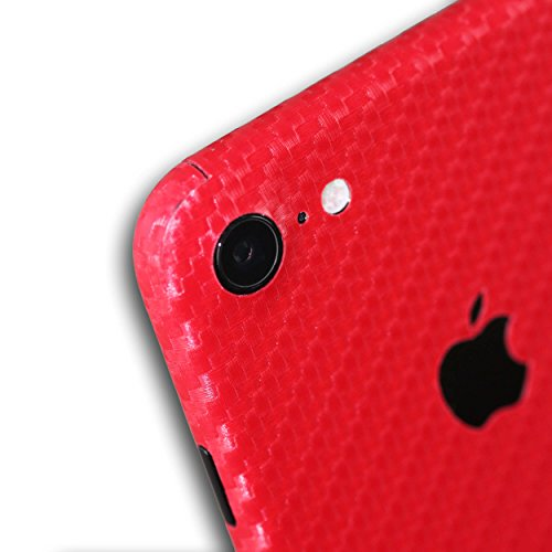 AppSkins Vorderseite iPhone 7 Carbon red