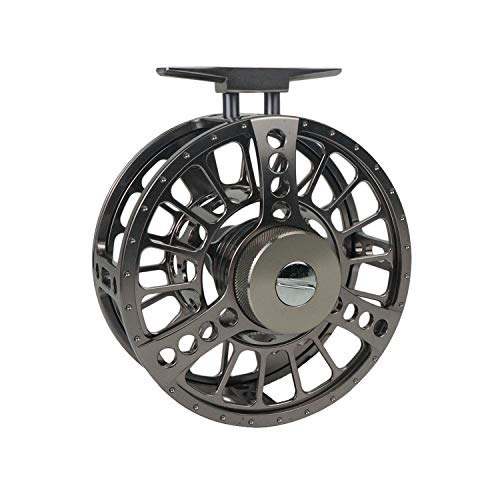 Riverruns Z Water Proof CNC Machined Carbon Drag Disc Larger Arbor Fly Fishing Reel 4/6, 7/10, 9/13, 12/14 Ideal Fly Fishing (9/13)