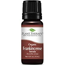 Plant Therapy USDA Certified Organic Frankincense Serrata Essential Oil. 100% Pure, Undiluted, Therapeutic Grade. 10 ml (1/3 oz).
