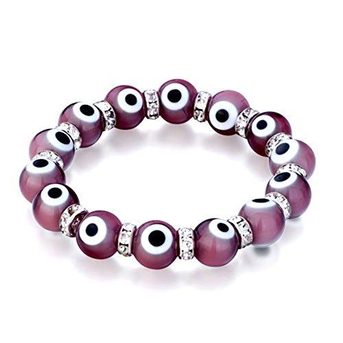 CharmSStory Bracelet Beads Stretch Crystal