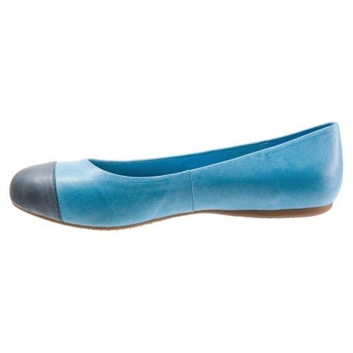 Softwalk Damen Napa Ballet Flat Ocean Blue / Navy Soft Mattes Leder
