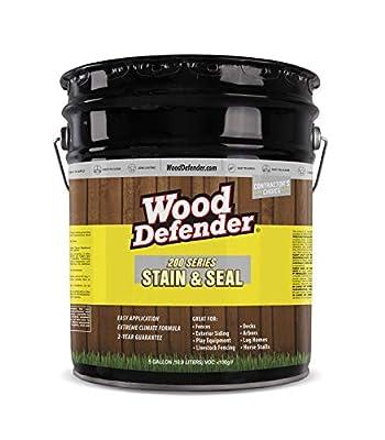 Wood Defender - 200 Series - Stain & Seal - Semi-Transparent - 5 Gallon