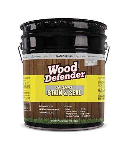 Series - Stain & Seal - Transparent - Cedar Tone - 5 Gallon ()