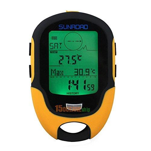 FidgetGear Waterproof FR500 Multifunction LCD Digital Altimeter Barometer Compass