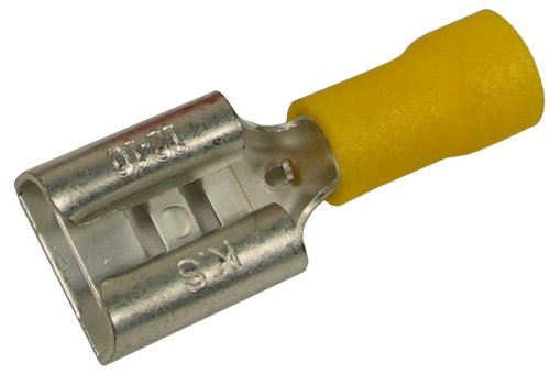 (Pico 3157C 12-10 AWG(Yellow) Electrical Wiring Flared Vinyl Insulated 0.375
