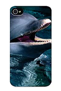 New Arrival Case Cover Fqqrop-377-mxrzprh With Design For Iphone 4/4s- Introduction, Bottlenose Dolphin Best Gift Choice For Lovers