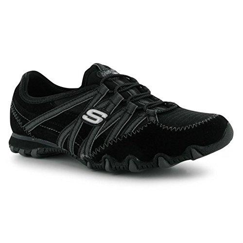 Skechers - Zapatillas para mujer Gris gris Black/Charcoal1