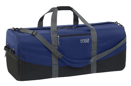 lewis-n-clark-uncharted-900d-zipper-duffel-bag-navy-14x30-inch