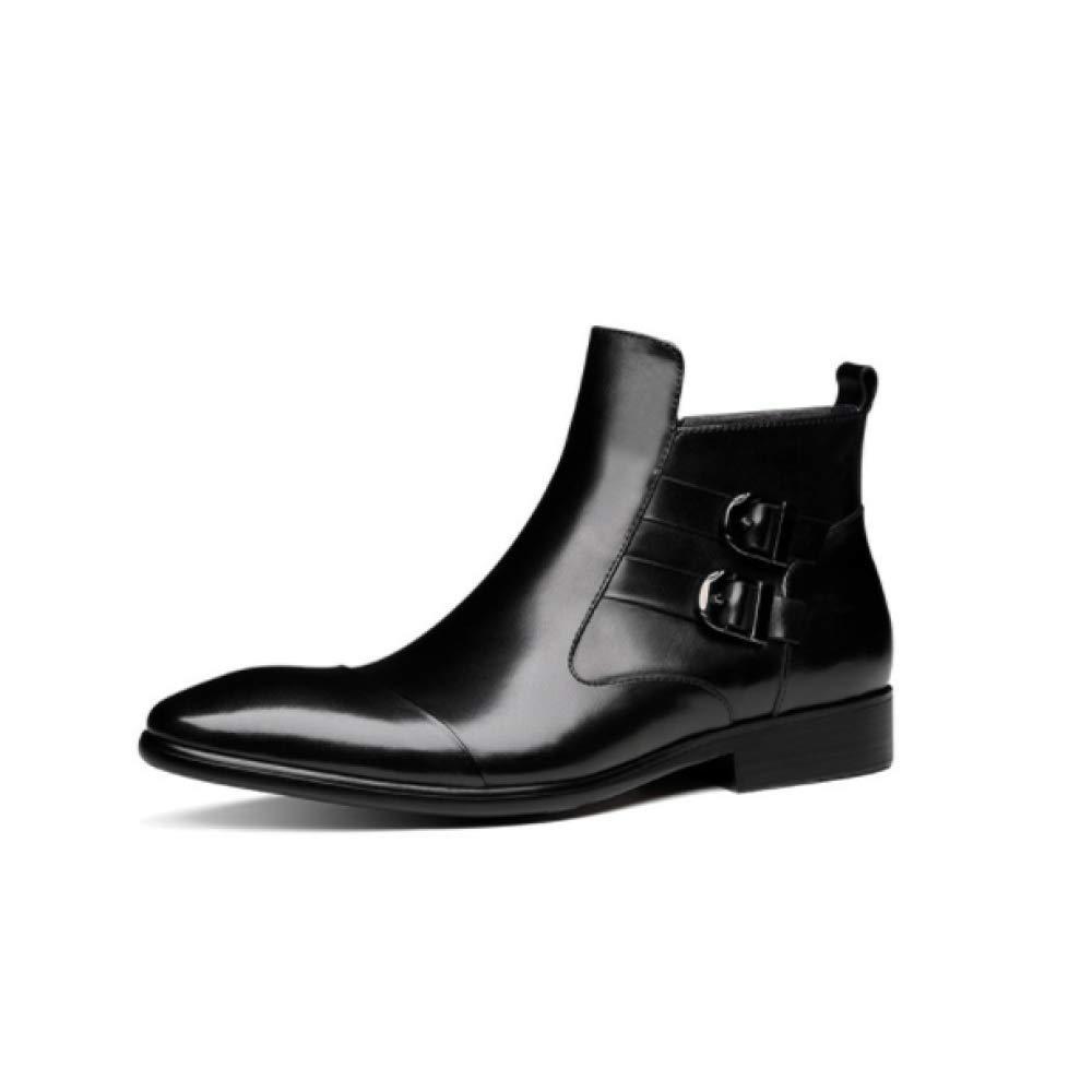 YCGCM Stiefel Casual Coreanas para Hombre Stiefel Martin para Hombre Stiefel Altas Y Botines schwarz
