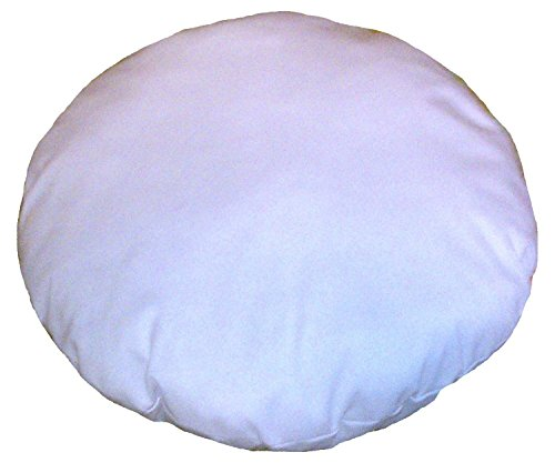 32 Inches Diameter Round Meditation Seating Ottoman Decorative Sham Stuffer Round Floor Pillow - Insert Round