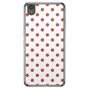 Loud Universe OnePlus X Love Valentine Printing Files Valentine 82 Transparent Edge Case - Red/White