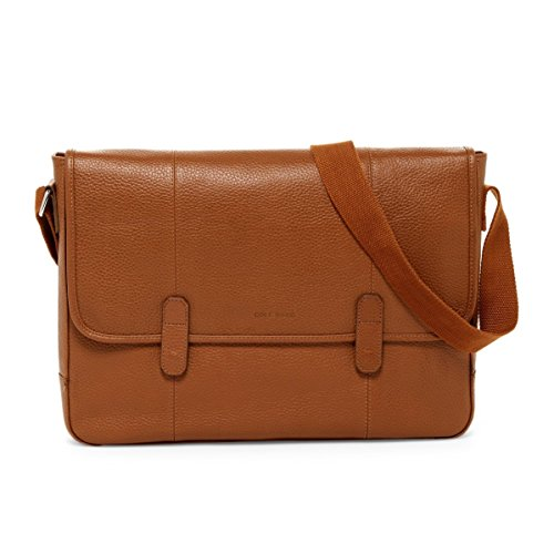 leather messenger bag cole haan - 9